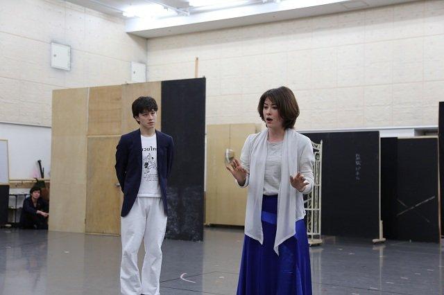 ミュージカル『紳士のための愛と殺人の手引き』公開稽古_ウエンツ瑛士&宮澤エマ