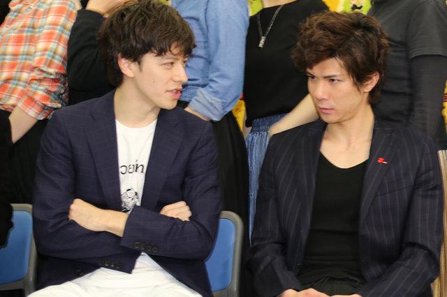 ミュージカル『紳士のための愛と殺人の手引き』公開稽古_ウエンツ瑛士&柿澤勇人