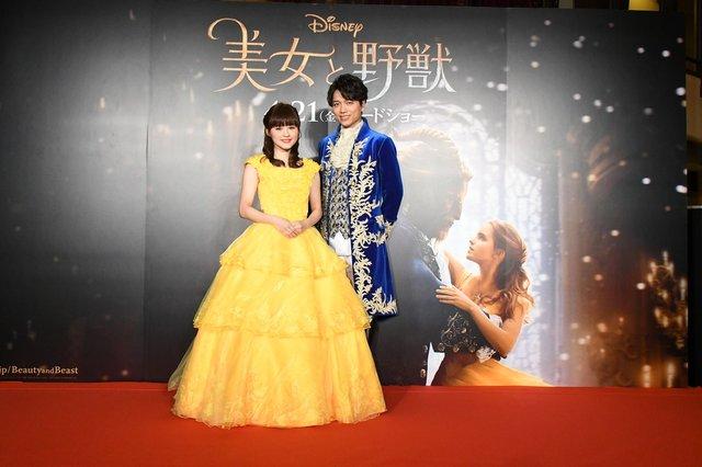 映画『美女と野獣』日本版デュエットソングお披露目イベント_3
