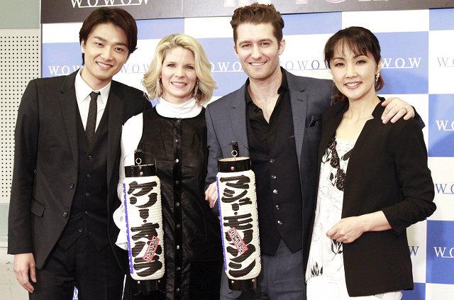 井上芳雄「本物が来た!」WOWOW開局25周年記念『トニー賞 コンサート in TOKYO』いよいよ開幕
