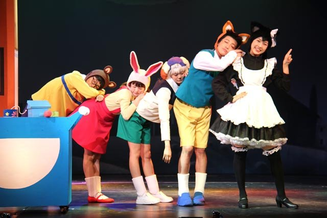 舞台版「ドラえもん のび太とアニマル惑星(プラネット)」舞台写真_3