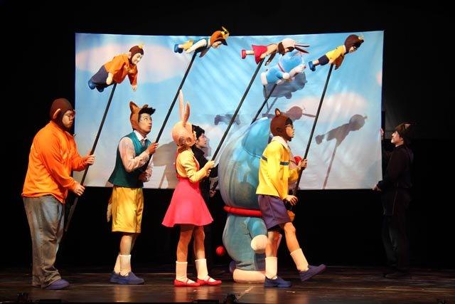 舞台版「ドラえもん のび太とアニマル惑星(プラネット)」舞台写真_4