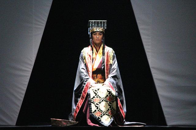 ミュージカル『花・虞美人』舞台写真_9
