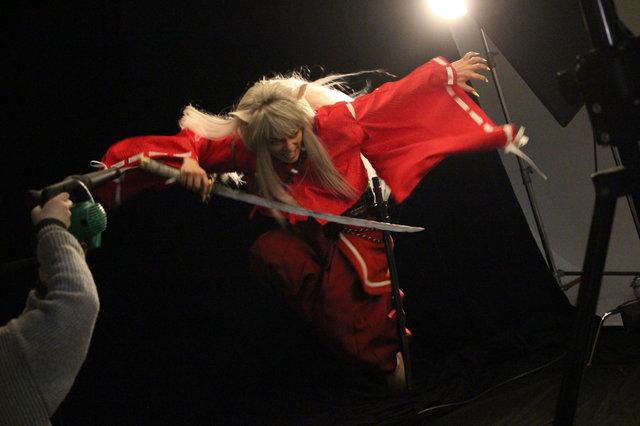 """迫る開幕!『犬夜叉』ビジュアル撮影で見せた金爆・喜矢武 豊""""役者""""としての素顔"""