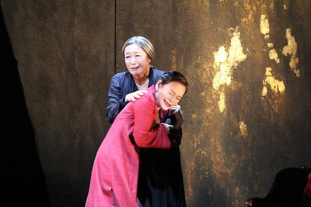 舞台『フェードル』_大竹しのぶ&キムラ緑子