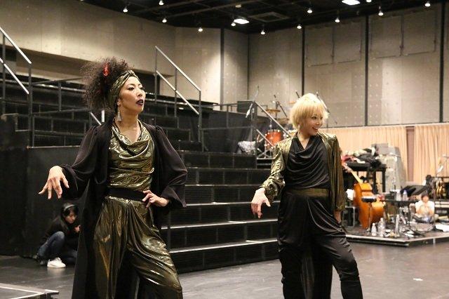 『REON JACK2』稽古場レポート_柚希礼音&YOSHIE