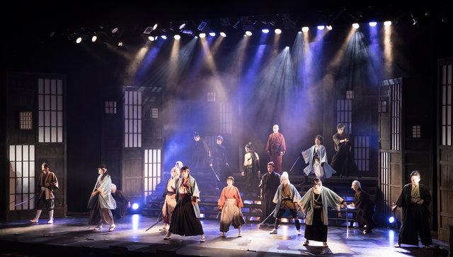 ミュージカル『薄桜鬼』原田佐之助 篇_大阪公演舞台写真3
