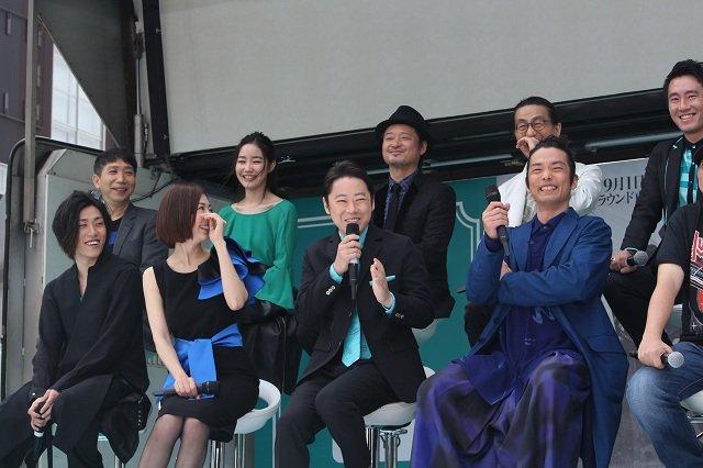 劇団☆新感線『髑髏城の七人』Season 鳥 製作発表会見_集合写真3
