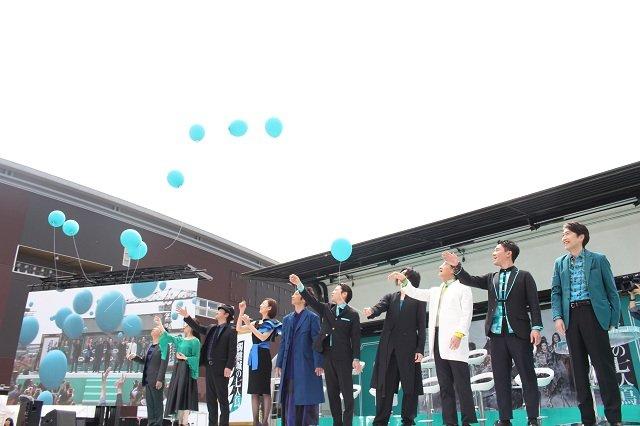 劇団☆新感線『髑髏城の七人』Season 鳥 製作発表会見_集合写真_2