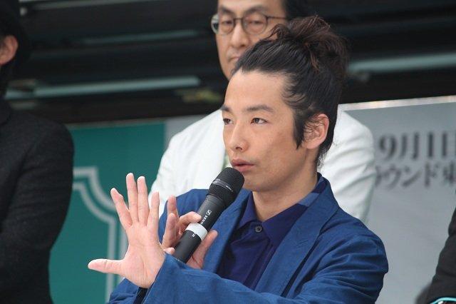 劇団☆新感線『髑髏城の七人』Season 鳥 製作発表会見_森山未來