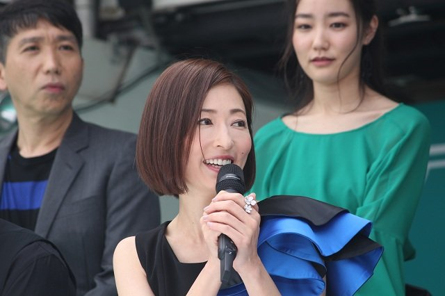 劇団☆新感線『髑髏城の七人』Season 鳥 製作発表会見_松雪泰子