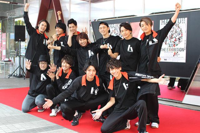 アイデアが詰まった演劇「ハイキュー!!」展始まる!須賀健太「作品と共に歩んで来た一つの結晶」