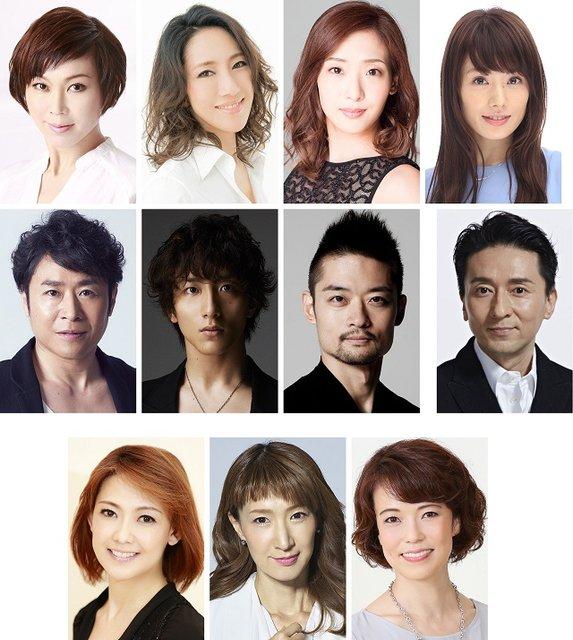 湖月わたる、水夏希ら元宝塚スターが集結!オリジナルショー『Pukul』2017年12月上演決定