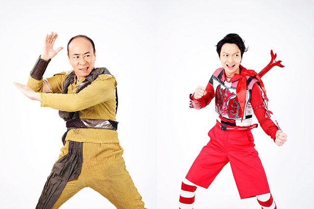 『昆虫戦士コンチュウジャー2~激突!恐怖の戦士、ネオコンチュウジャー!~』_モト冬樹&海老澤健次