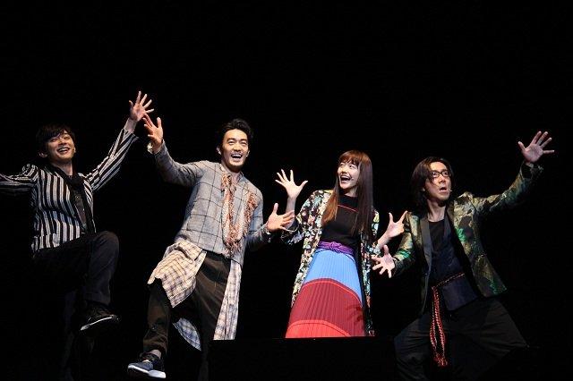 岸谷五朗、吉沢亮、松井愛莉、大谷亮平_フエルサ ブルータ『Panasonic presents WA! ‒ Wonder Japan Experience』制作発表
