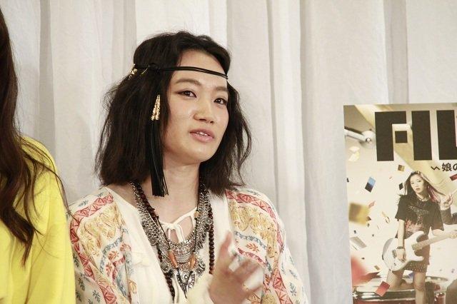 千菅春香_舞台『FILL-IN~娘のバンドに親が出る~』制作発表会見