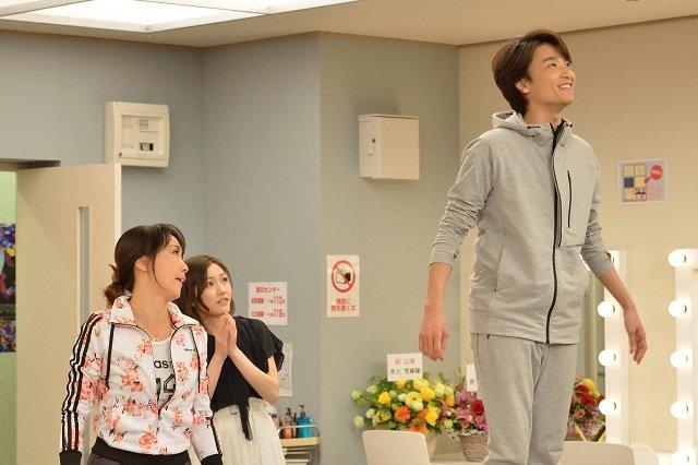 WOWOW『グリーン&ブラックス』#2_濱田めぐみ、渡辺麻友(AKB48)、井上芳雄