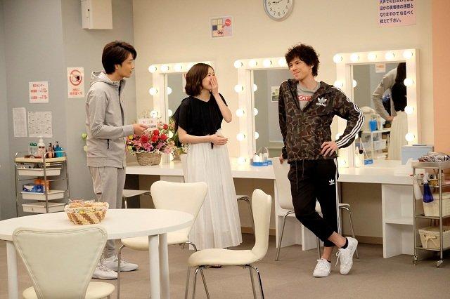 WOWOW『グリーン&ブラックス』#2_濱田めぐみ、渡辺麻友(AKB48)、柿澤勇人