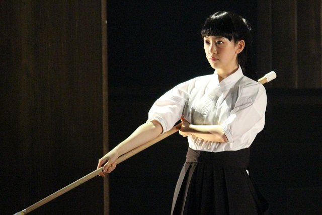 舞台『あさひなぐ』公開稽古_堀未央奈(乃木坂46)