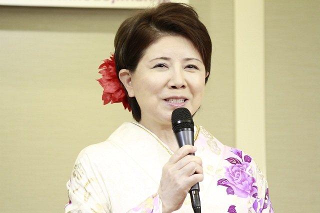 音楽喜劇『のど自慢~上を向いて歩こう~』製作発表会見_森昌子