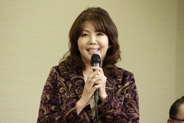 音楽喜劇『のど自慢~上を向いて歩こう~』製作発表会見_小川菜摘