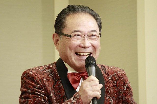 音楽喜劇『のど自慢~上を向いて歩こう~』製作発表会見_前田吟