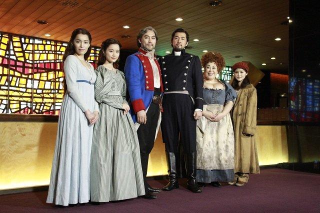 ミュージカル『レ・ミゼラブル』日本初演30周年記念公演初日会見