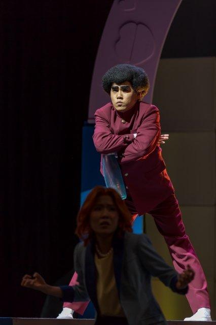舞台『ハイスクール!奇面組』舞台写真_13