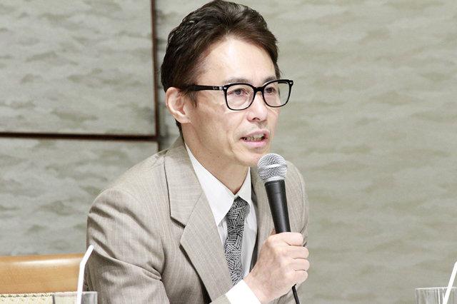 ミュージカル・コメディ『キス・ミー・ケイト』制作発表会見_上島雪夫