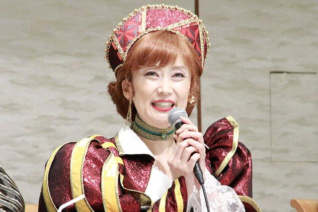 ミュージカル・コメディ『キス・ミー・ケイト』制作発表会見_一路真輝