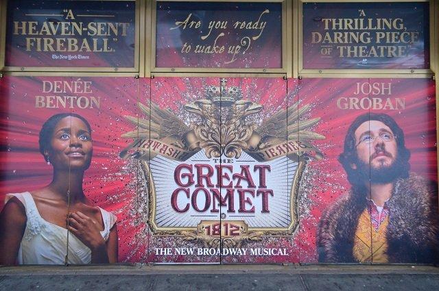 ミュージカル『ナターシャ、ピエール・アンド・ザ・グレート・コメット・オブ・1812』舞台レポート