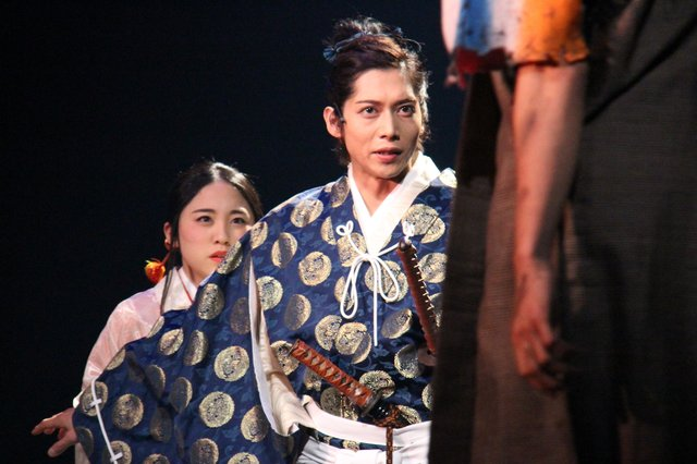 舞台『剣豪将軍義輝~星を継ぎし者たちへ~』舞台写真_16