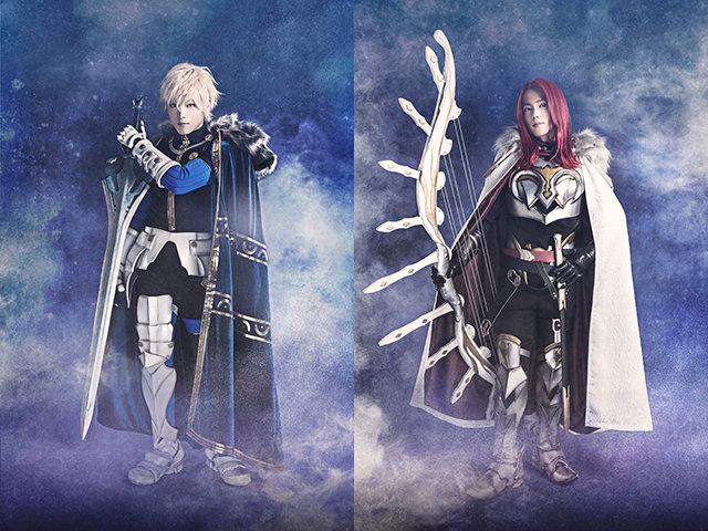 『Fate/Grand Order THE STAGE –神聖円卓領域キャメロット-』ガウェイン(山口大地)、トリスタン(菊田大輔)