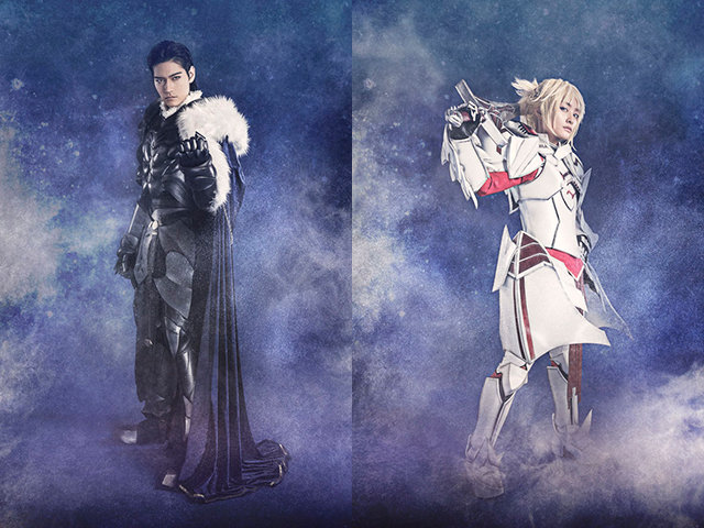 『Fate/Grand Order THE STAGE –神聖円卓領域キャメロット-』アグラヴェイン(JAY)、モードレッド(甲斐千尋)