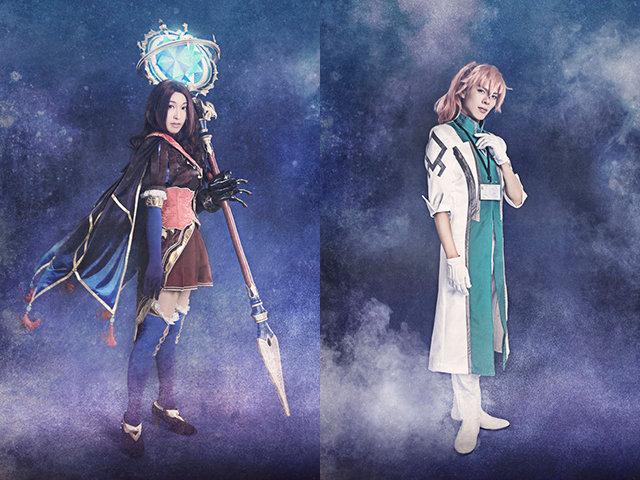 『Fate/Grand Order THE STAGE –神聖円卓領域キャメロット-』レオナルド・ダ・ヴィンチ(RiRiKA)、ロマニ・アーキマン(井出卓也)