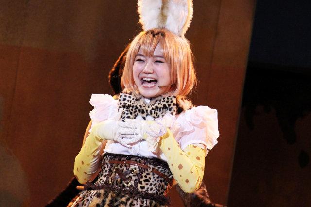 尾崎由香ら声優陣がそのまま出演!すごーい!劇場でもフレンズに会えるんだね!舞台『けものフレンズ』開幕