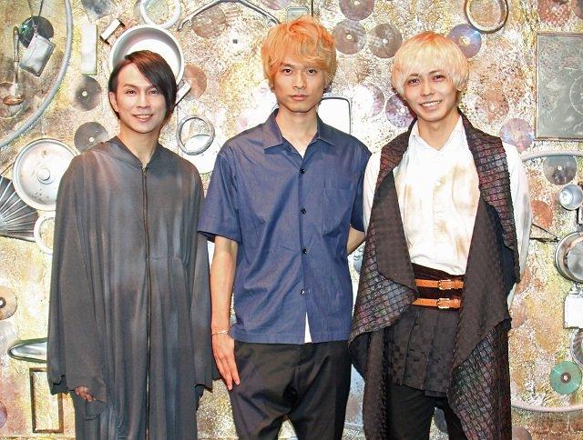 風間由次郎、猪塚健太らアミューズ若手アーティストによるオリジナルミュージカル『オーバーリング・ギフト』ゲネプロレポート