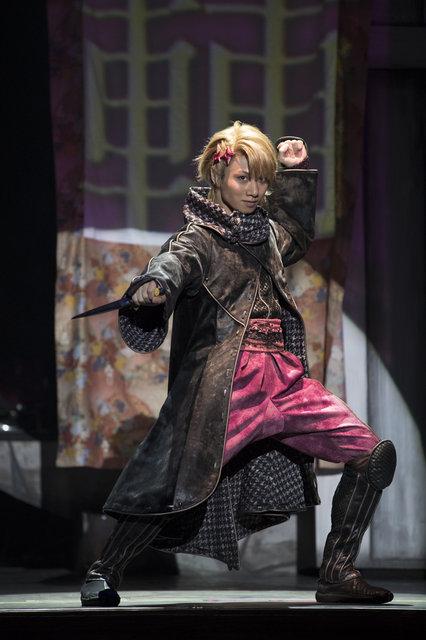 舞台「劇団シャイニングfrom うたの☆プリンスさまっ♪『天下無敵の忍び道』舞台写真_3