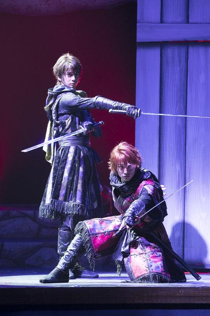 舞台「劇団シャイニングfrom うたの☆プリンスさまっ♪『天下無敵の忍び道』舞台写真_6
