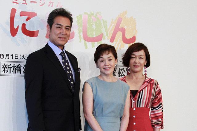 大竹しのぶ「38年前と変わらずにんじんの愛を叫ぶ」ミュージカル『にんじん』製作発表会見