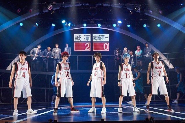 舞台「黒子のバスケ」OVER-DRIVE舞台写真到着!大千秋楽のライブ・ビューイングも開催
