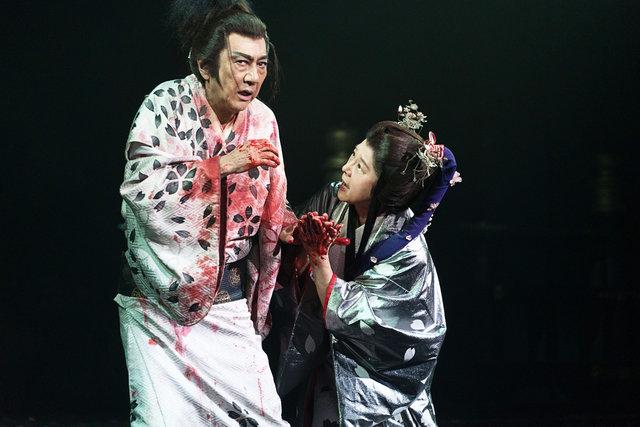 『NINAGAWA・マクベス』香港公演_舞台写真3