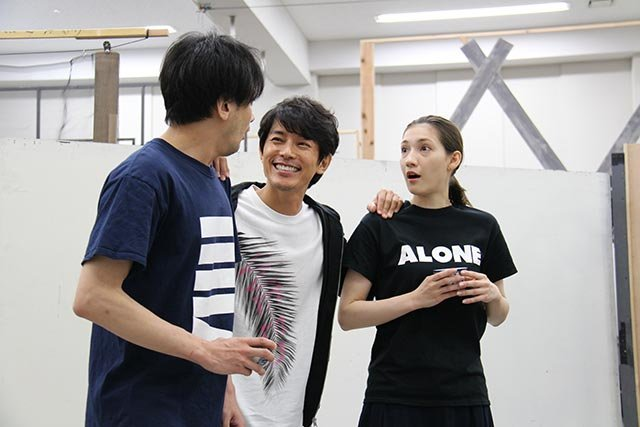 音楽劇『魔都夜曲』稽古場レポート_藤木直人、マイコ、小西遼生