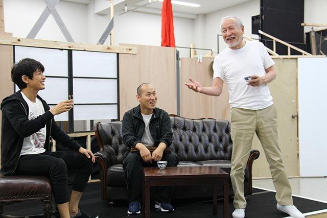音楽劇『魔都夜曲』稽古場レポート_藤木直人、山西惇、村井國夫