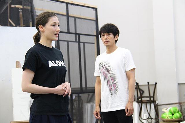 音楽劇『魔都夜曲』稽古場レポート_藤木直人、マイコ