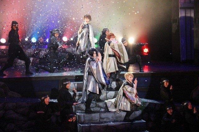4人の若き忍びが対峙!舞台「劇団シャイニングfromうたの☆プリンスさまっ♪『天下無敵の忍び道』」レポート