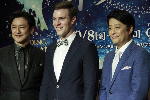 石丸幹二がサプライズ登壇!ミュージカル『ファインディング・ネバーランド』制作発表会見