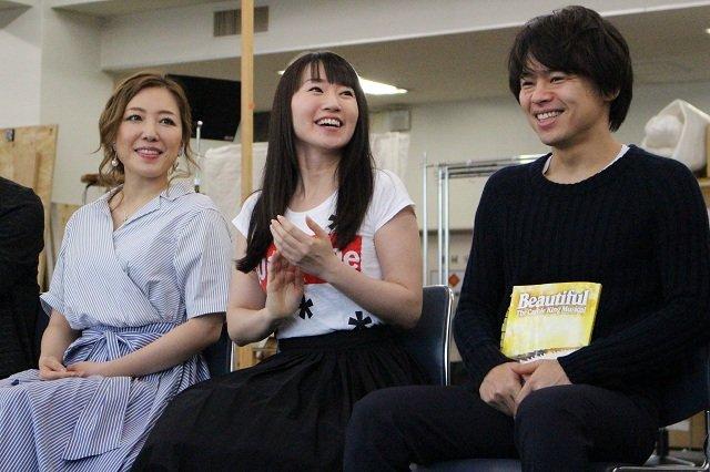 水樹奈々&平原綾香によるW主演ミュージカル『ビューティフル』開幕間近!公開稽古レポート