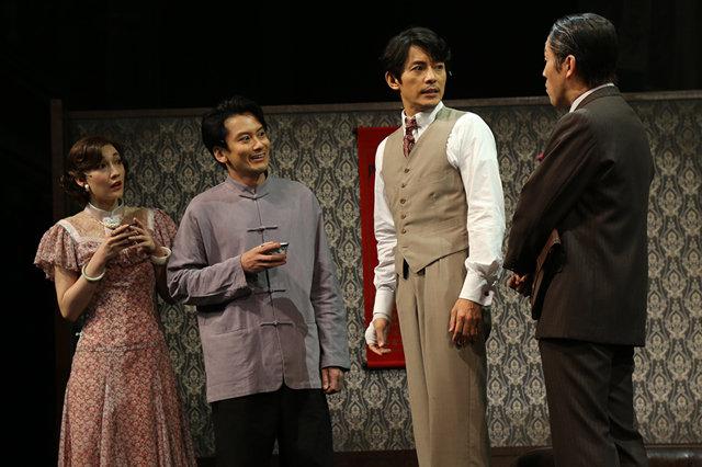 藤木直人、小西遼生らが1930年代の上海に降臨!音楽劇『魔都夜曲』開幕レポート
