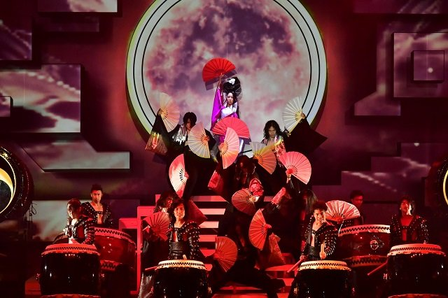 DRUM TAO新作『ドラムロック 疾風』舞台写真_2